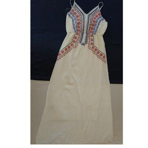 Embroidered Maxi dress size M